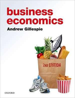 Business Economics de Andrew Gillespie