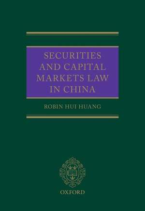 Securities and Capital Markets Law in China