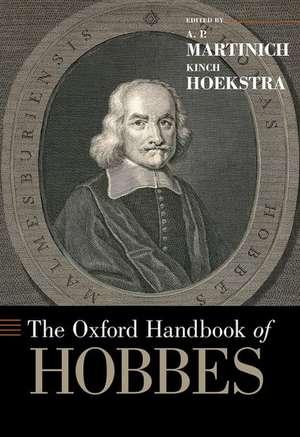 The Oxford Handbook of Hobbes de A.P. Martinich