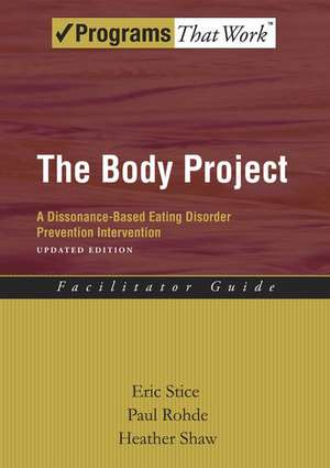 The Body Project Facilitator Guide