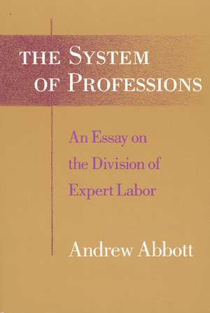 The System of Professions – An Essay on the Division of Expert Labor imagine