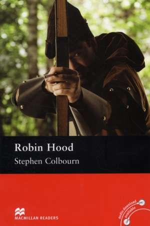 Macmillan Readers Robin Hood Pre Intermediate ReaderWithout CD de Stephen Colbourn