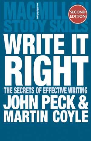 Write it Right imagine