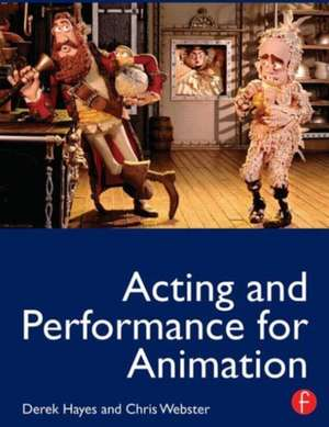Acting and Performance for Animation imagine