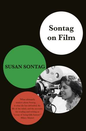 Sontag on Film