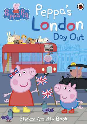 Peppa's London Day Out Sticker Activity Book de Peppa Pig