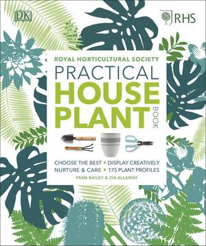 RHS Practical House Plant Book imagine