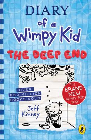 Diary of a Wimpy Kid: The Deep End (Book 15): The Deep End de Jeff Kinney