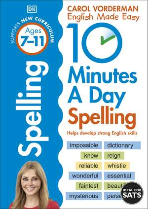 10 Minutes A Day Spelling, Ages 7-11 (Key Stage 2) imagine