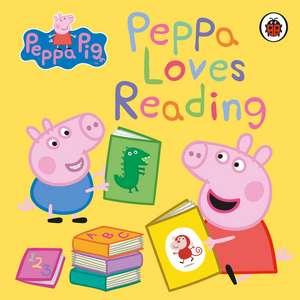 Peppa Pig: Peppa Loves Reading de Peppa Pig