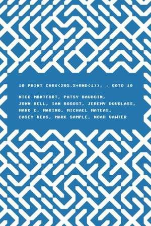 10 Print CHR£(205.5+RND(1)); – Goto 10 de Nick Montfort