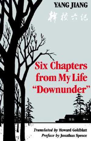 Six Chapters from My Life Downunder imagine