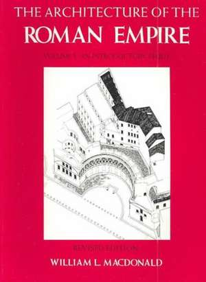 The Architecture of the Roman Empire – An Introductury Study V 1
