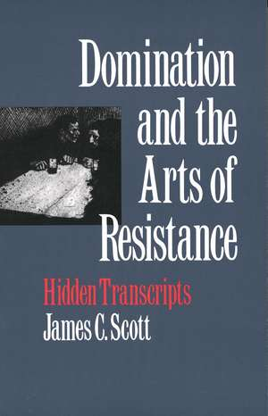 Domination and the Arts of Resistance imagine