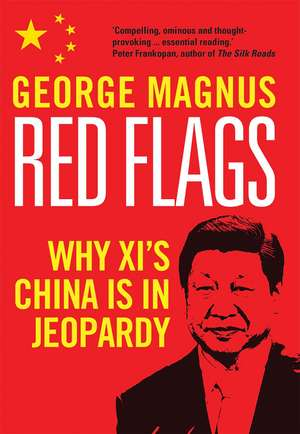 Red Flags: Why Xi's China Is in Jeopardy de George Magnus