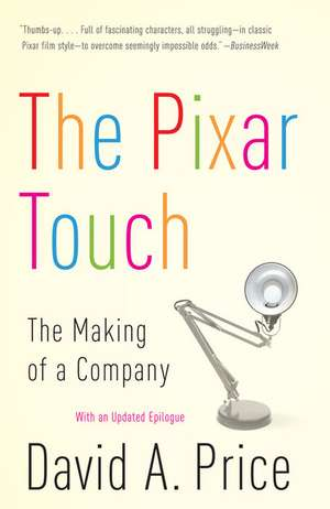 The Pixar Touch de David A. Price