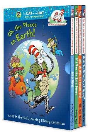 Oh, the Places on Earth Boxed Set de Dr. Seuss