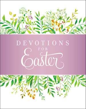 Devotions for Easter de Zondervan