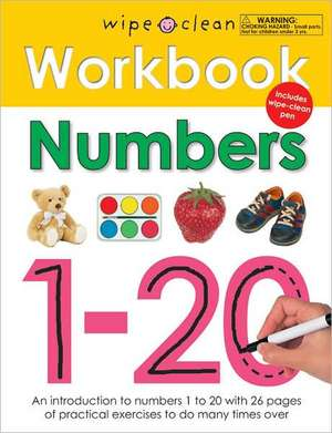 Numbers 1-20 [With Wipe Clean Pen]