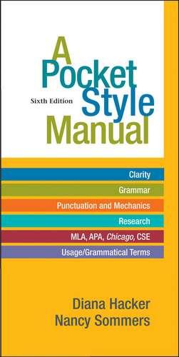 Hacker, D: Pocket Style Manual