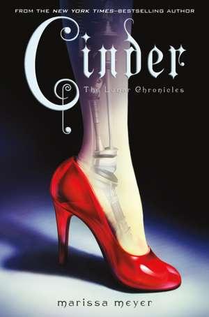 Cinder:  Book One of the Lunar Chronicles de Marissa Meyer