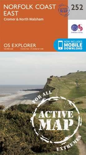 Norfolk Coast East de  Ordnance Survey