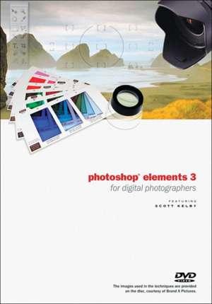 The Photoshop Elements 3 Book for Digital Photographers DVD de Scott Kelby