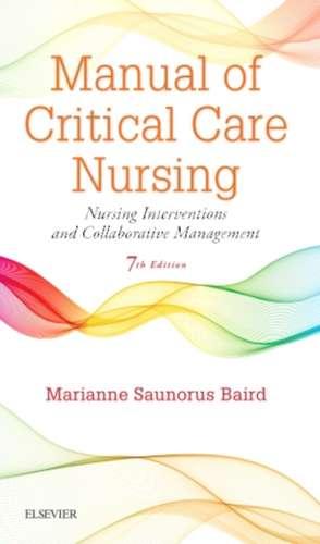 Manual of Critical Care Nursing imagine