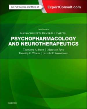 Massachusetts General Hospital Psychopharmacology and Neurotherapeutics