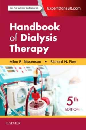 Handbook of Dialysis Therapy de Allen R. Nissenson