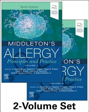 Middleton's Allergy 2-Volume Set imagine