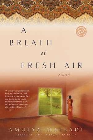 A Breath of Fresh Air de Amulya Malladi