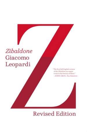 Zibaldone de Giacomo Leopardi