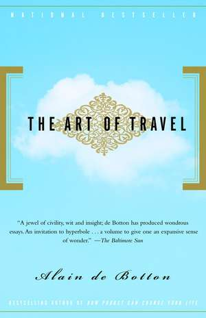The Art of Travel de Alain de Botton