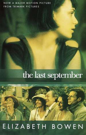 The Last September de Elizabeth Bowen