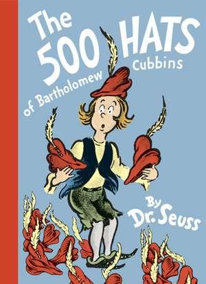 The 500 Hats of Bartholomew Cubbins de  Dr. Seuss