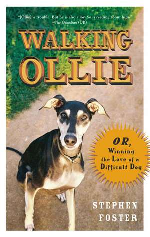 Walking Ollie:  Or, Winning the Love of a Difficult Dog de Stephen Foster