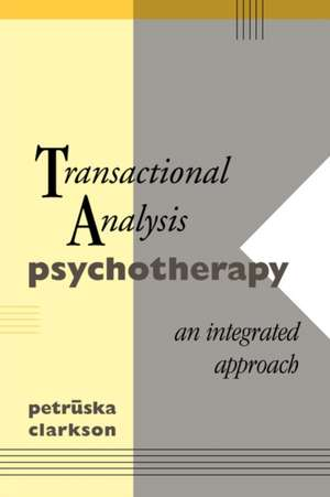 Transactional Analysis Psychotherapy