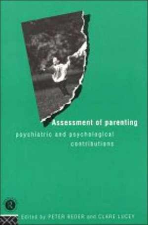 Assessment of Parenting