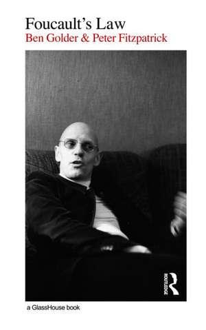 Foucault's Law de Ben Golder