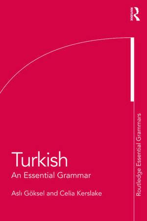 Turkish: An Essential Grammar