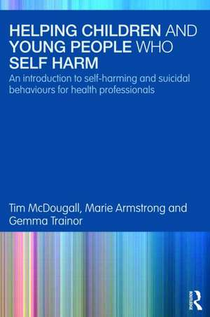 Helping Children and Young People Who Self-Harm