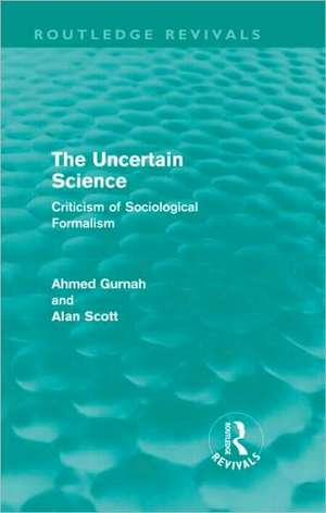 The Uncertain Science de Ahmed Gurnah