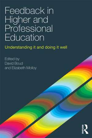 Feedback in Higher and Professional Education de David Boud