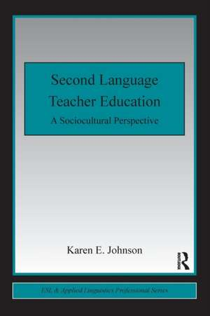 Second Language Teacher Education imagine
