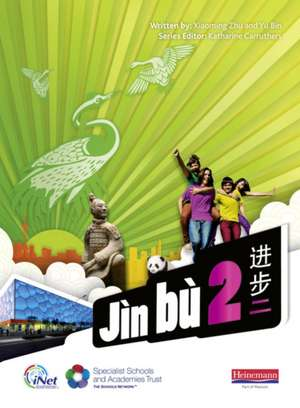 Jin bu Chinese Pupil Book 2 (11-14 Mandarin Chinese)