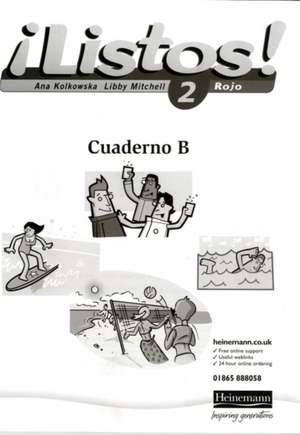 Listos! 2 Rojo Workbook (Pack of 8)