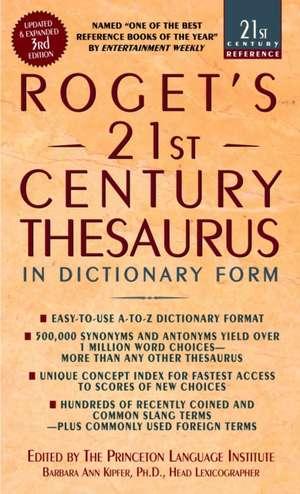 Roget's 21st Century Thesaurus de Barbara Ann Kipfer