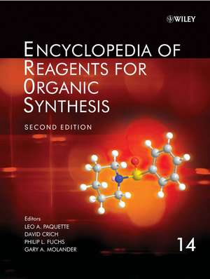Encyclopedia of Reagents for Organic Synthesis: 14 Volume Set de Leo A. Paquette