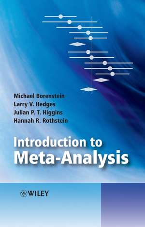 Introduction to Meta–Analysis